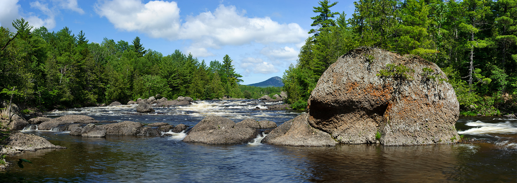 Haskell Rock, East Branch Penobscot River, KWWNM  - By Mark Picard